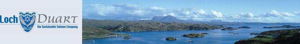 Loch Duart Salmon Badcall Bay Scotland
